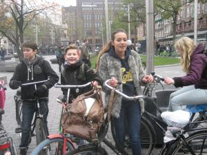 13-year-olds Amsterdam